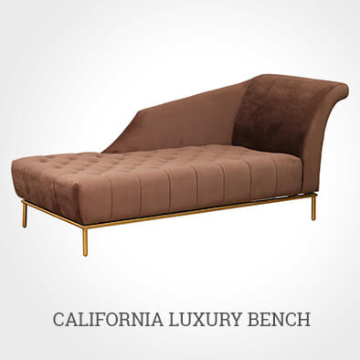 CALIFORNIA LUXURY BENCH