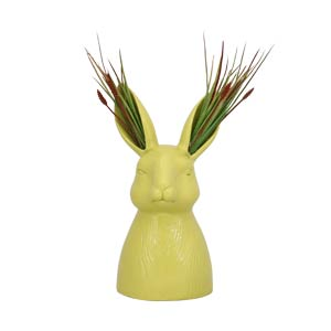 Rabbit Ear Resin Vase sculptures