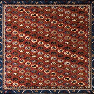 Paisley passion Multicolor Rug